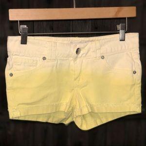 Vintage denim ombré true soulmate shorts